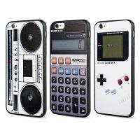 【全国包邮】hidog 苹果iPhone6plus手机壳浮雕软胶黑边框6splus保护套复古潮男
