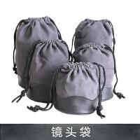 单反相机镜头袋/筒/包/保护套/桶加厚内胆包收纳通用佳能尼康 S号 (LP1214)