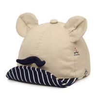 儿童帽子儿童棒球帽小孩可爱鸭舌帽棉帽宝宝翘舌帽