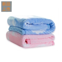 婴儿毛毯双层加厚冬季 秋冬礼盒云毯盖毯 宝宝冬小毯子抱毯定制