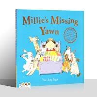 【盖世童书】英文原版绘本 米莉找哈欠Millie's Missing Yawn 儿童宝宝英语启蒙睡前故事书 支持小怪兽