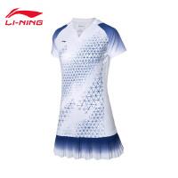 李���B衣裙女士新款��家��助羽毛球系列速干�鏊�防走光�\�臃�