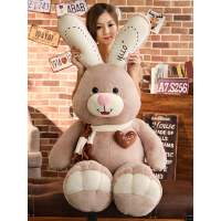 布娃娃公仔可爱兔子毛绒玩具睡觉抱枕女孩玩偶大号萌韩国搞怪懒人