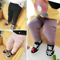 29直播婴幼儿童装宝宝双层爱心加绒打底裤长裤子百搭款冬季0-5岁