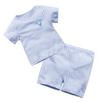 婴儿童装套装春宝宝春季0岁5个月春装季薄款满月外出服新年