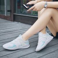 【领券立减100元】Q-AND/奇安达女跑鞋2018新款女士轻便减震透气百搭潮流休闲跑步鞋