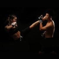 MMA拳套全散打格斗半指手套 自由搏击拳击拳套 男女成人UFC跆拳道打沙袋