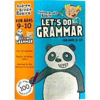 现货正版 英国小学英语语法练习册9-10岁 英文原版 原版教材 小学教辅书 Let's Do Grammar 英文版进