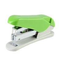 齐心B3016 办公文具用品工具订书器炫彩省力耐用订书机