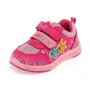 Shoebox/鞋柜 卡通图案双排魔术贴可爱女童鞋运动鞋休闲男童鞋