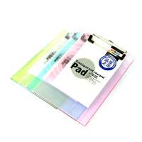 晨光文具 晨光板夹 晨光ADM94511竖式透明记事板夹 A5写字板