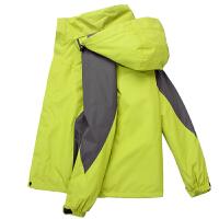 冬季冲锋衣套装男女三合一两件套衣裤防风防水透气加厚保暖登山服新品