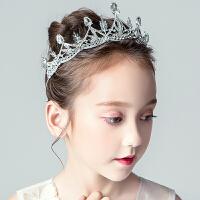 公主王冠发饰花童头饰饰品女童皇冠礼服发箍儿童演出发夹头箍
