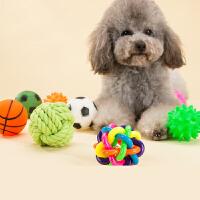 【支持礼品卡】宠物小狗狗玩具球发声磨牙耐咬训练泰迪比熊幼犬猫玩具用品狗咬胶t4w