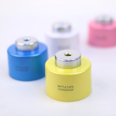 创意加湿器 生日礼物 瓶盖加湿器静音USB香薰空气瓶子家用办公迷你加湿器送朋友送女友礼物