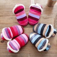 儿童棉拖鞋男女童可爱保暖防滑居家室内卡通小童宝宝包跟棉鞋