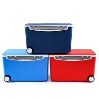 汽车保温箱储物箱大车载冷藏箱后备箱户外冰箱食品保鲜收纳箱