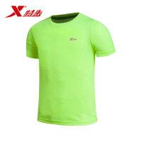 特步2016春夏新款男子短袖T恤清凉透气舒适百搭运动T恤