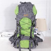 促销 登山包徒步包 户外运动包双肩旅行背包铝板支架55L新品