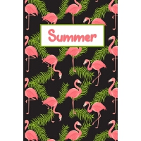 【预订】Pink Flamingo Summer Journal: 6x9 Guided Journal And Do