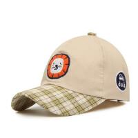 户外儿童带舌帽子男女童宝宝鸭舌帽小孩遮阳帽棒球帽硬檐童帽