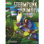 Steampunk Animals Coloring Book (【按需印刷】)