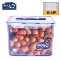 乐扣乐扣塑料保鲜盒12L大容量密封提手型收纳储物箱 HPL889
