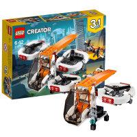 【当当自营】乐高(LEGO)积木 创意百变组Creator 玩具礼物 双旋翼无人机 31071