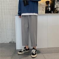 百搭坠感阔腿裤宽松直筒裤休闲裤九分裤原版品质