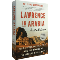 Lawrence in Arabia 阿拉伯的劳伦斯 英文原版 中东历史书 斯科特・安德森 Scott Anderson