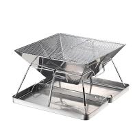 烧烤架烧烤炉户外折叠便携式烧烤炉 送收纳箱袋MT-2户外装备 野餐用品