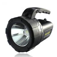 远射手提大手电筒 充电远射 户外矿 强光探照灯