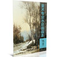 美术专业水彩画临本:风景