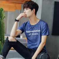 男士圆领短袖T恤韩版新款男装打底衫t体恤青年小清新上衣服装