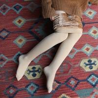 秋冬季丝袜连裤袜加厚加绒连袜裤女肉色连体裤袜显瘦打底裤女