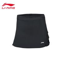 李宁裤裙女士2019新款国家队比赛服羽毛球系列吸汗假两件运动裤