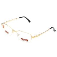 夕阳红老花镜防疲劳半框折叠 镀膜镜片AX5108