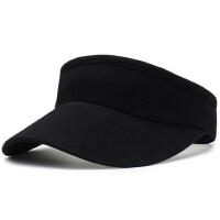 户外帽子女士韩版百搭无顶鸭舌帽潮牌遮太阳帽街头运动空顶帽