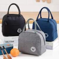 手提包铝箔加厚学生袋带饭包午餐便当包上班族保温饭盒袋日式大众