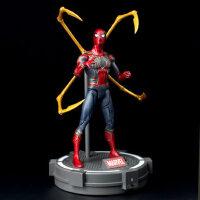 漫威正版蜘蛛侠公仔玩具钢铁侠英雄归来美国队长手办模型可动人偶