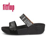 Fitflop AZTEC CHADA SLIDE Silver Stones 551-001 进口正品韩国直邮 女拖