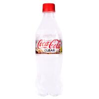 日本进口网红透明可口可乐碳酸饮料500ml 夏季限定零度可乐汽水