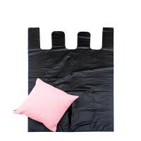 塑料袋 黑色加大号背心塑料袋加厚特大服装包装袋手提式垃圾袋