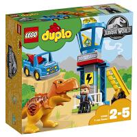 【当当自营】LEGO乐高积木得宝DUPLO系列10880 2-5岁霸王龙监视塔