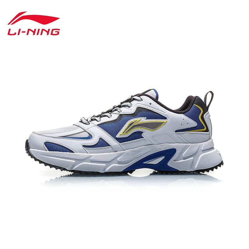 李宁跑步鞋男鞋2020新款减震潮流时尚鞋子男士低帮运动鞋 专柜新款