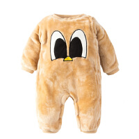 婴儿连体衣服宝宝新生儿外出0岁1个月可爱系0加厚2冬装冬季