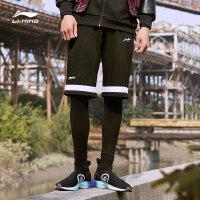 李宁卫裤男士新款BAD FIVE系列篮球系列长裤裤子男装冬季收口针织运动裤AKLN805