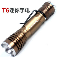 LED灯珠 夜骑手电筒 xm-l t6超亮强光手电筒 CREE伸缩变焦 打猎 日常携带