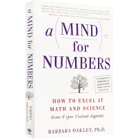 现货正版 A Mind for Numbers 学习之道 英文原版 一个数字的头脑:如何擅长数学和科学 Barbara