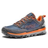 【今日领券满299减200】RAX新品防滑徒步鞋 男登山鞋减震保暖户外鞋